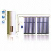 China best efficiency pressurized solar water heater