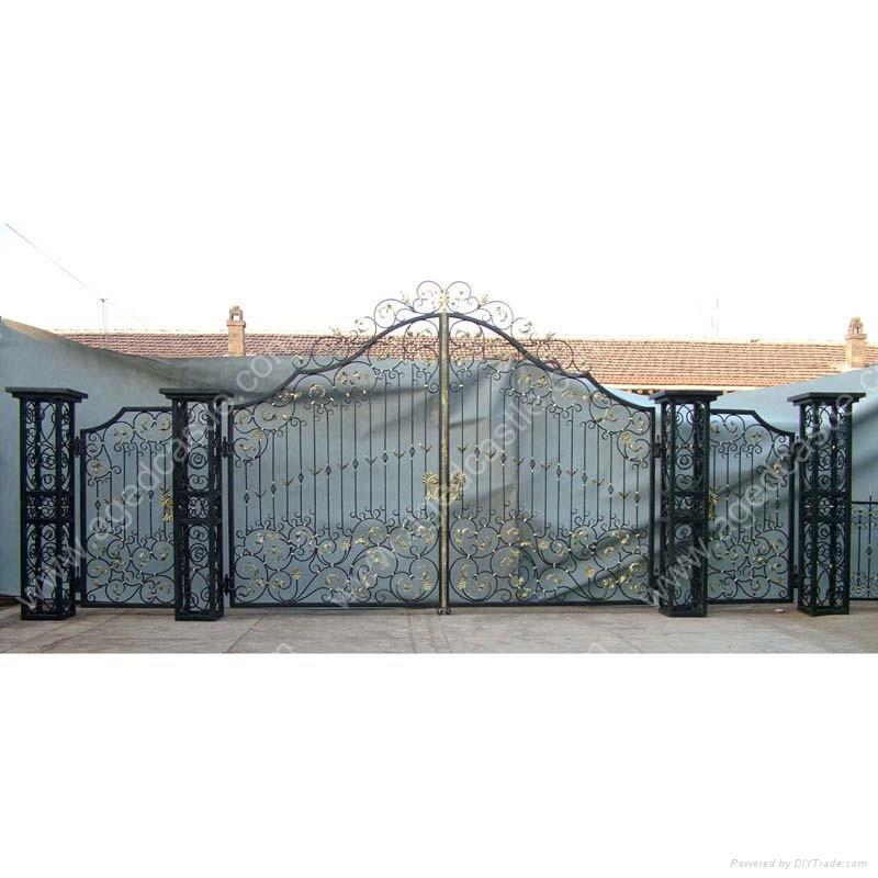 Wrought iron gates gt jingxiu china trading