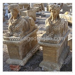 antique stone sculpture
