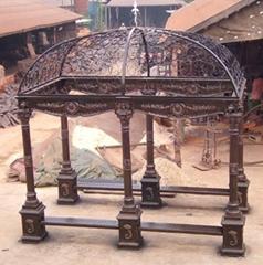 cast iron gazebo