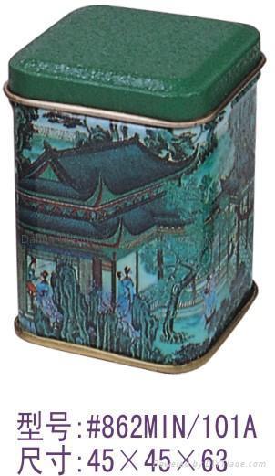 茶葉罐/mini罐 1