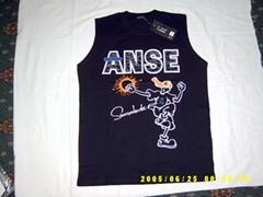 供应T恤、文化衫、绒衫裤、背心、广告衫、针织运动装