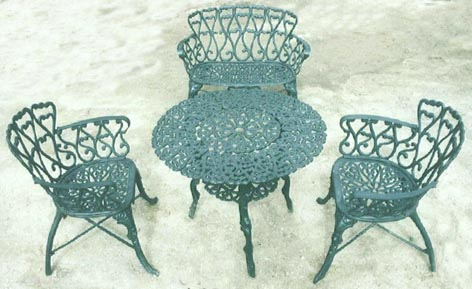 Cast Iron Outdoor Furniture 1 ...