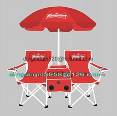 Promotion   Double   ice   chair   with   umbrella