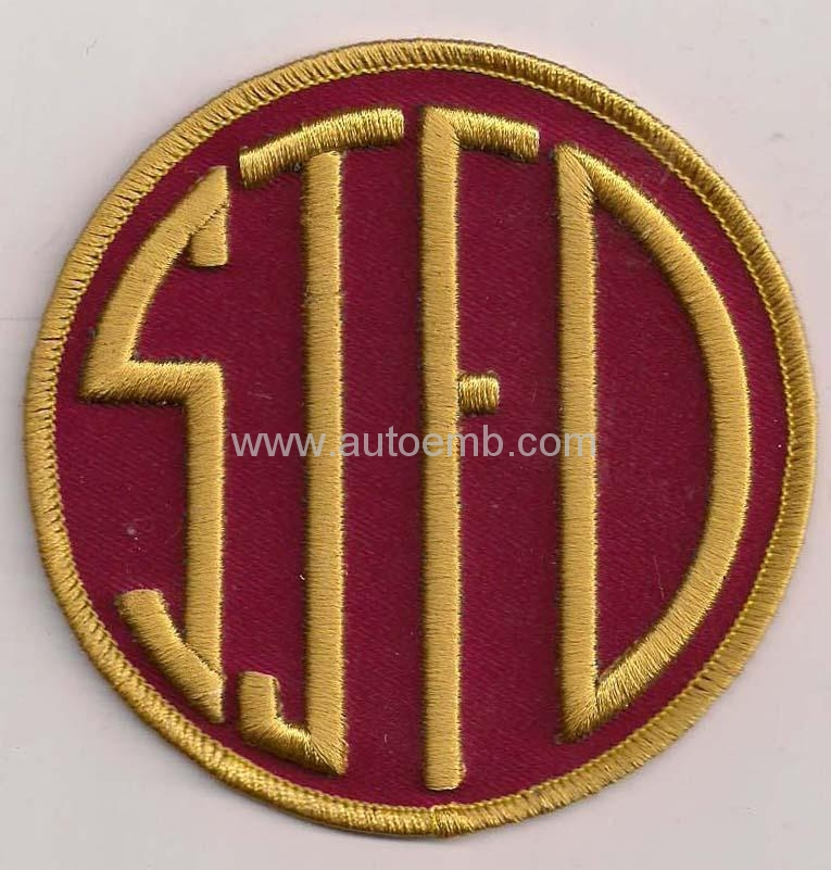 embroidered badge,cap patch, free shipping patch