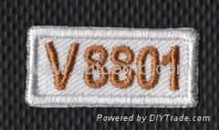 letter embroidery patch,embroidery patch supplier, DDP price 1