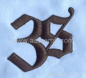 Client's designs are welcomed,custom embroidery patch,embroidery textil 2