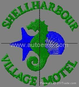 logo setting, garment embroidery setting