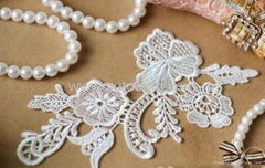 chinese embroidery factory supplier;100% cotton embroidery lace
