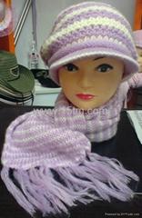 针织帽子,绣花帽子,印花帽子,晴纶帽子