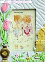Papery photo frame / picture frame