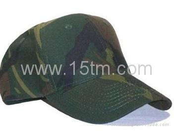 100% Cotton Baseball Cap with Embroidery 2