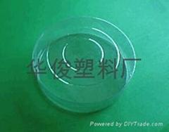 扁平塑料圓筒