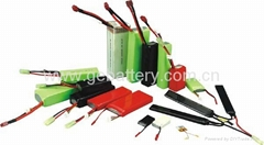 high-rate RC battery 40C