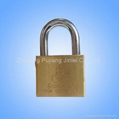 Self Locking Brass Padlock
