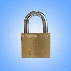 Self Locking Brass Padlock