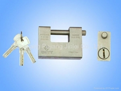 6 pins  heavy-duty rectangular padlock