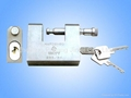 6 pins  heavy-duty rectangular padlock