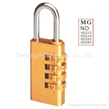 3 or 4 Digital Combination Padlocks
