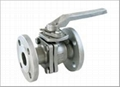 2-pc flanged ball valve 150LBS