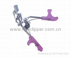 sell Eyelash Curler with plastic handle,heated eyelash curle