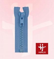 Plastic zipper O/E A/L