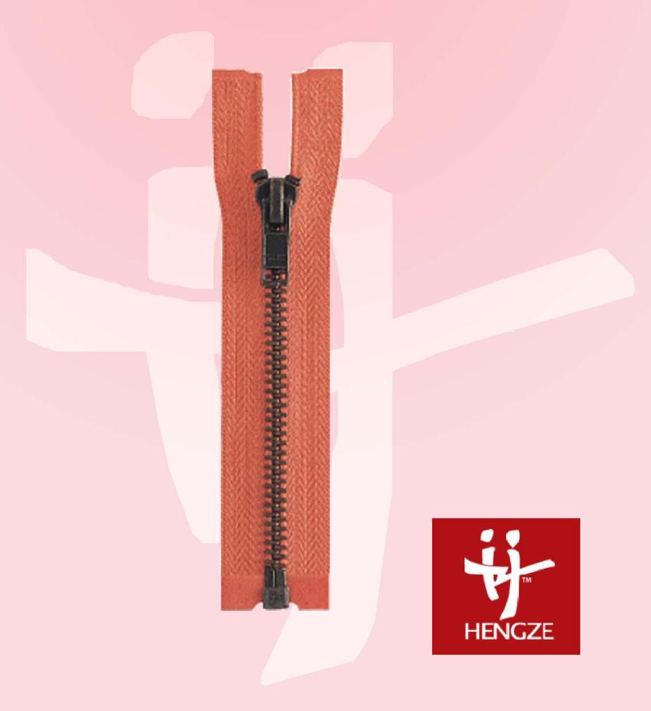 metal zipper O/E A/L  1