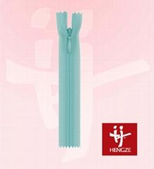 nylon invisible zipper with lace tape C/E A/L