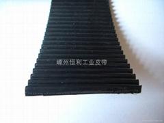 Rubber open timing belt