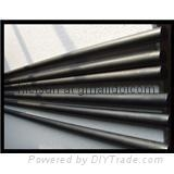 Extruded resin graphite tubes