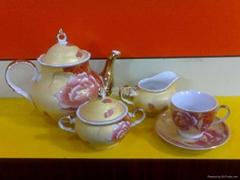 陶瓷紅茶具-15pcs