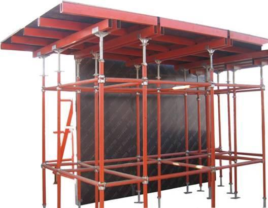 Steel frame plywood formwork 118 aoyu china manufacturer prefabricated building