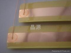 变压器铜箔漆包线全自动背胶点焊机