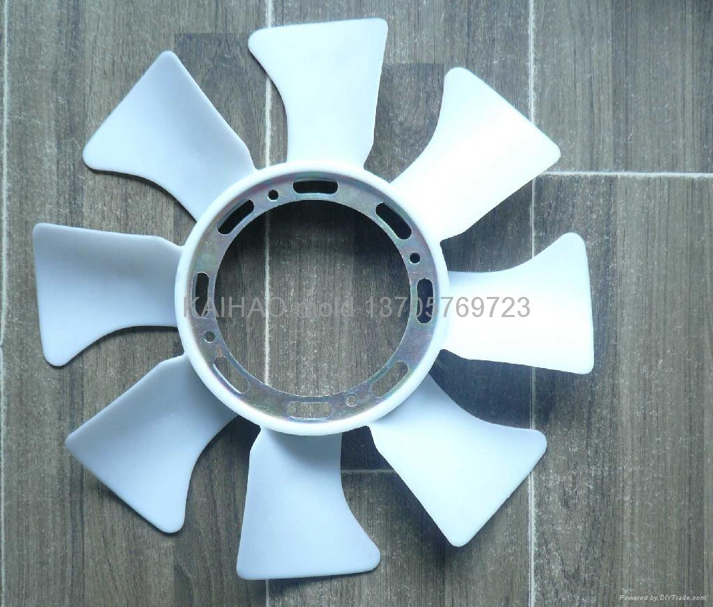汽车水箱风扇模具 1
