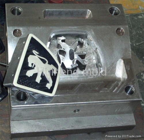 供应汽车方向盘护罩模具 2