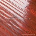 handscraped  laminate floor 1