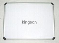 Cork White Memo Board with Aluminum Frame