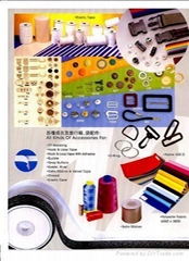 All Kind of Zipper and Garment Accessories.