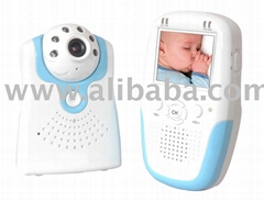 2.4Ghz wireless baby monitor with 2.5'' LCD display