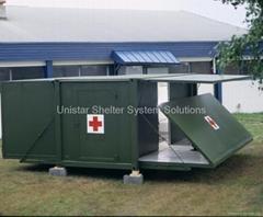 Expandable & foldable shelter