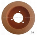 Rubber polishing wheel(9R80 polishing wheel)
