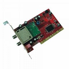 Digital Satellite TV Tuner Card