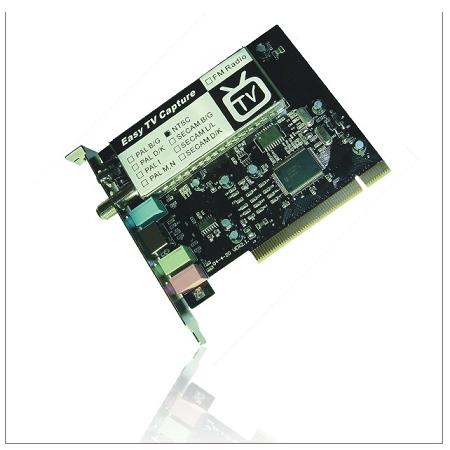 PC TV Tuner Capture Card without FM 1