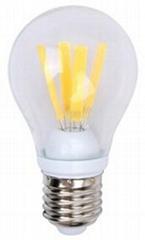 4W LED bulb 580lm 360 degree light angle replace 60W bulb