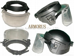 Bulletproof face shield / visor