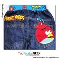 卡通Angry Birds儿童牛仔裤  4