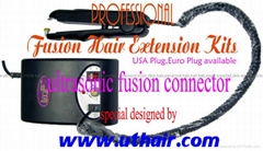 ultrasonic fusion hair connector