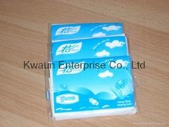 pocket size tissue paper