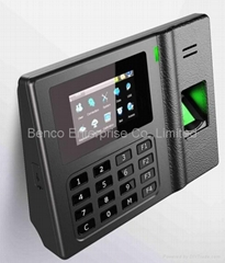 "Desktop Fingerprint Time Attendance with 3"" TFT screen BS302"