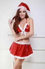 wholesale cheap Naughty and sexy Santa Set costume